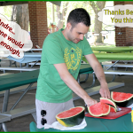 BBQ 23 Andre_slices_watermelon